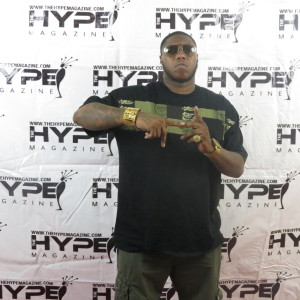 Z-Ro on the red carpet at The Hype Magazine meet and greet in Houston, TX