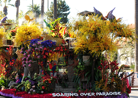 Dole Packaged Foods was one of eight floats built by Fiesta Parade Floats to earn top awards for the 2016 Rose Parade. (Photo: Business Wire)