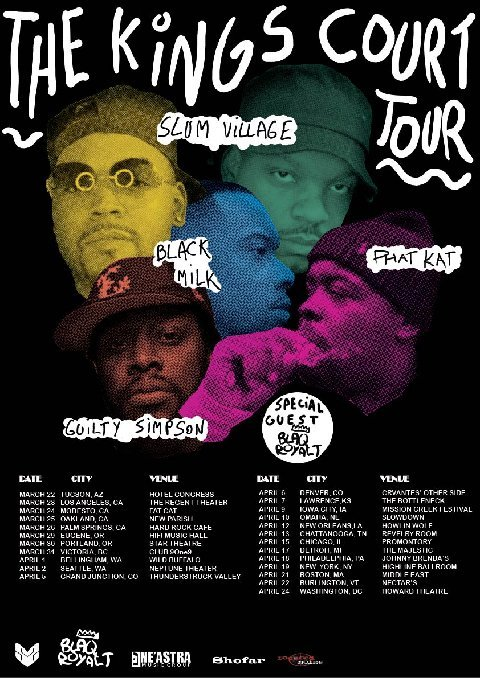 slum village tour flyer
