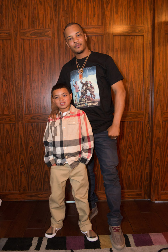 Drai's LIVE Artist Tip 'T.I.' Harris Meets with Make-A-Wish Member Mark at GIADA at The Cromwell 6.10_14