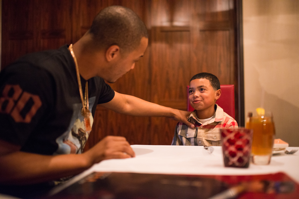 Drai's LIVE Artist Tip 'T.I.' Harris Meets with Make-A-Wish Member Mark at GIADA at The Cromwell 6.10_3