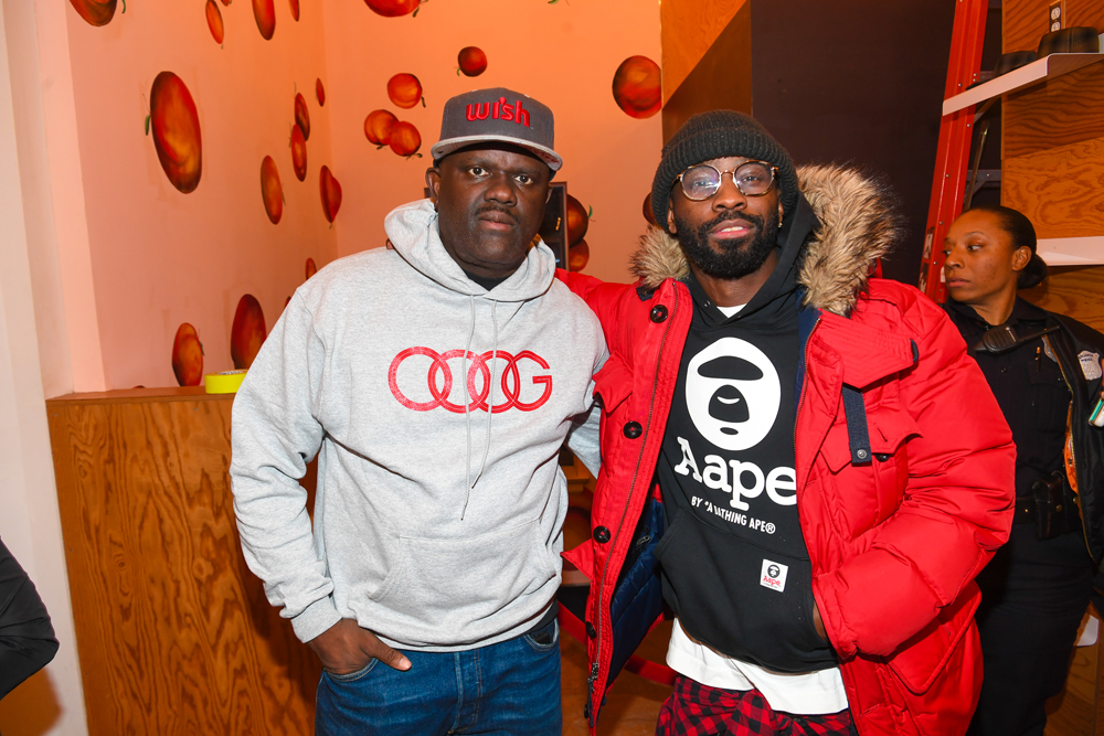 """ATLANTA, GA - JANUARY 07: Dj Greg Street and Bryan-Michael Cox attend Lifetime Presents, """"Rap Game"""" Season 3 Premiere Event at Wish Boutique on January 7, 2017 in Atlanta, Georgia. (Photo by Paras Griffin/Getty Images for Lifetime)"""