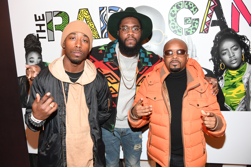 """ATLANTA, GA - JANUARY 07: Phresh Ali, Big K.R.I.T, and Jermaine Dupri attends Lifetime Presents, """"Rap Game"""" Season 3 Premiere Event at Wish Boutique on January 7, 2017 in Atlanta, Georgia. (Photo by Paras Griffin/Getty Images for Lifetime)"""