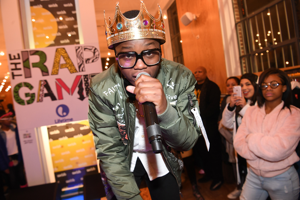 """ATLANTA, GA - JANUARY 07: Rapper King Roscoe attends Lifetime Presents, """"Rap Game"""" Season 3 Premiere Event at Wish Boutique on January 7, 2017 in Atlanta, Georgia. (Photo by Paras Griffin/Getty Images for Lifetime)"""