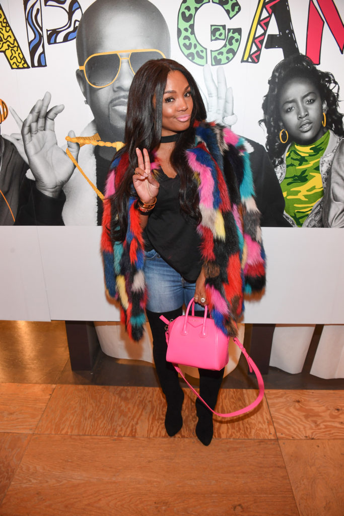 """ATLANTA, GA - JANUARY 07: Rasheeda attends Lifetime Presents, """"Rap Game"""" Season 3 Premiere Event at Wish Boutique on January 7, 2017 in Atlanta, Georgia. (Photo by Paras Griffin/Getty Images for Lifetime)"""