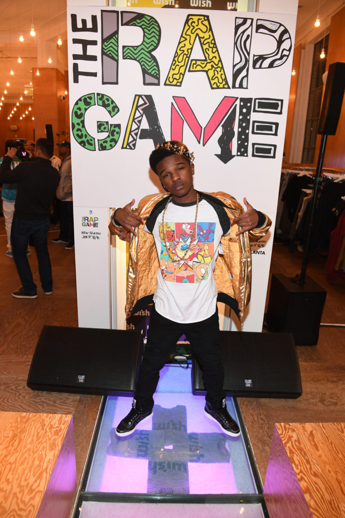 """ATLANTA, GA - JANUARY 07: Rapper Sire attends Lifetime Presents, """"Rap Game"""" Season 3 Premiere Event at Wish Boutique on January 7, 2017 in Atlanta, Georgia. (Photo by Paras Griffin/Getty Images for Lifetime)"""