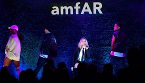 amfAR Gala 2017 at Ron Burkle's Green Acres Estate on October 13, 2017 in Beverly Hills, California.