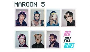 Maroon 5 announce new studio album Red and Blue pills (artwork)