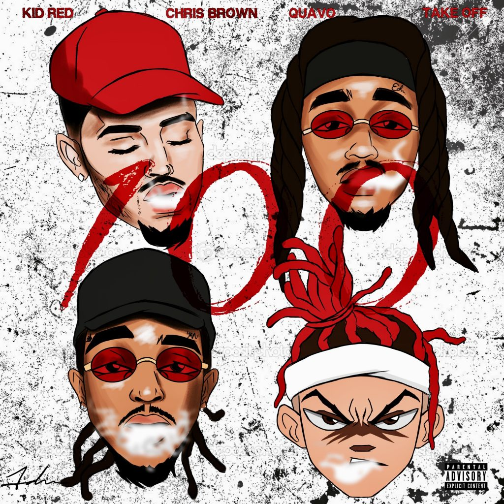 3975366caba93 Kid Red x Chris Brown x Quavo x Take Off (Migos)- 100 – The Hype ...