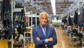 Joseph Abboud at his factory