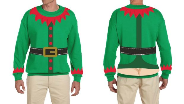 Green Day Christmas Sweater.The Cheeky Cheer Holiday Sweater Collection Is Out In Time