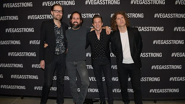 The Killers at Vegas Strong Benefit Concert (Photo: Powers Imagery)