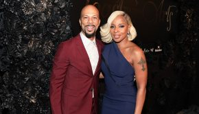 WEST HOLLYWOOD, CA - MARCH 02: Common and Mary J. Blige attend Toast To The Arts Presented by Remy Martin on March 2, 2018 in West Hollywood, California. (Photo by Jerritt Clark/Getty Images for Remy Martin)