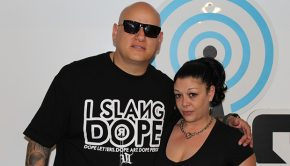 Hollywood, CA - Sick Jacken (Psycho Realm) and DJ Beanz at Dash Radio (Photo: Jerry Doby / The Hype Magazine)