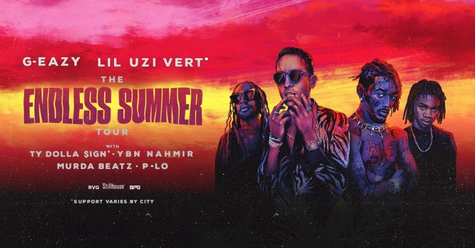 G-Eazy And Lil Uzi Vert Announce 'The Endless Summer Tour