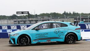 Jaguar I-Pace eTROPHY global debut