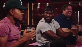 Kevin Hart and Chance the Rapper x Beer Yoga