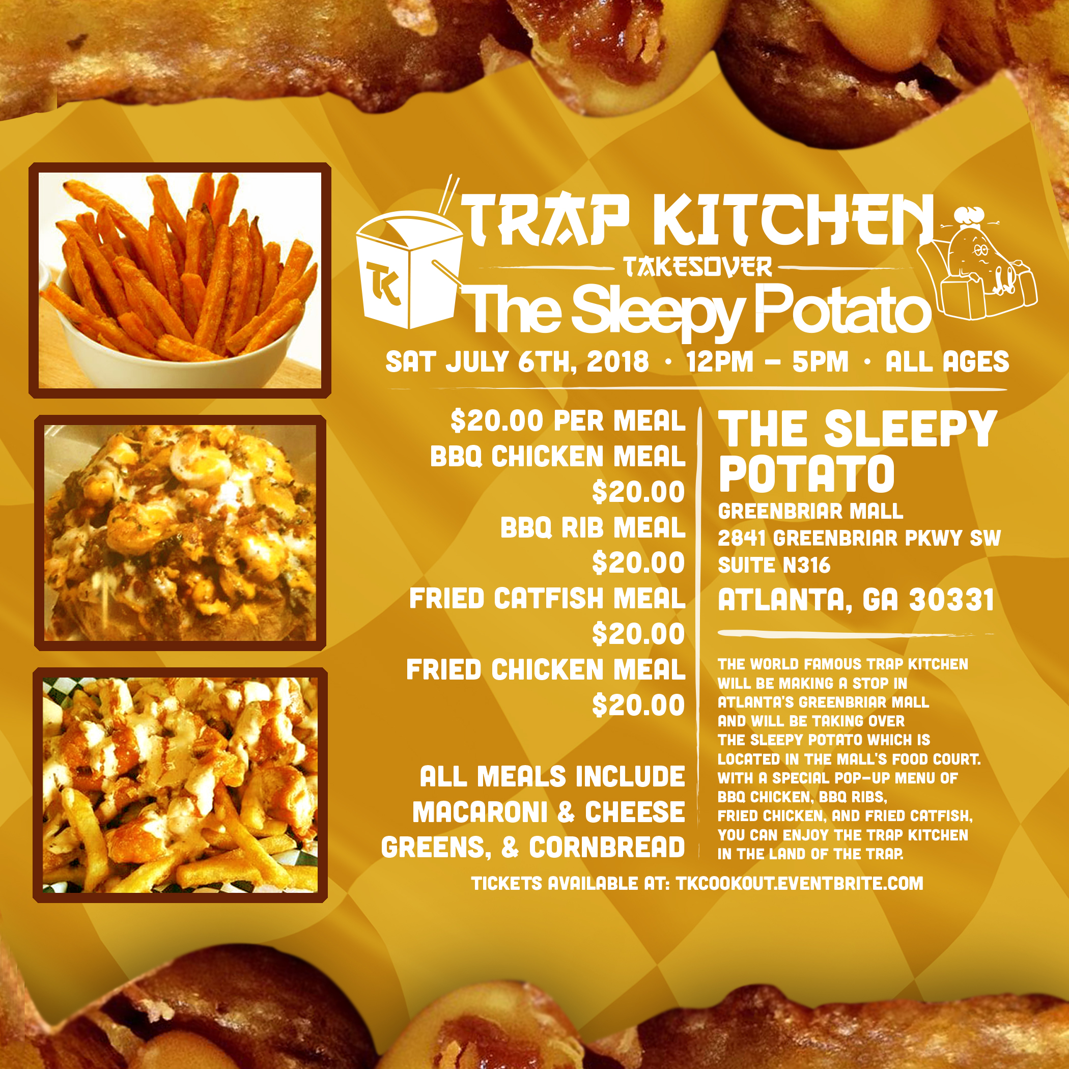 more info on the trap kitchen - Trap Kitchen