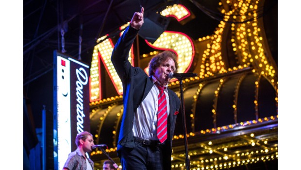 Eddie Money delivers unforgettable performance during Downtown Rocks on Fremont Street Experience, 7.21.18 (Photo Credit: Black Raven Films)