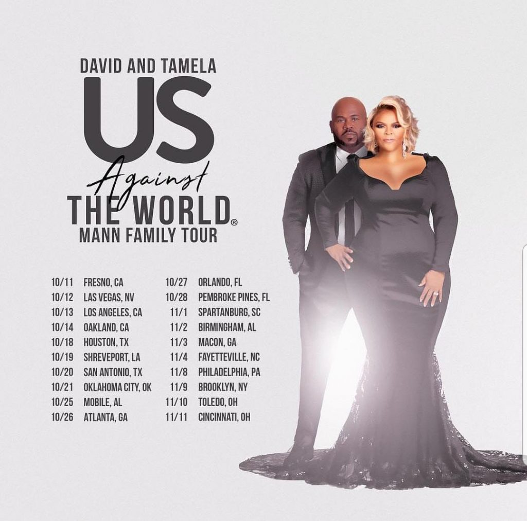 Tamela mann tour dates