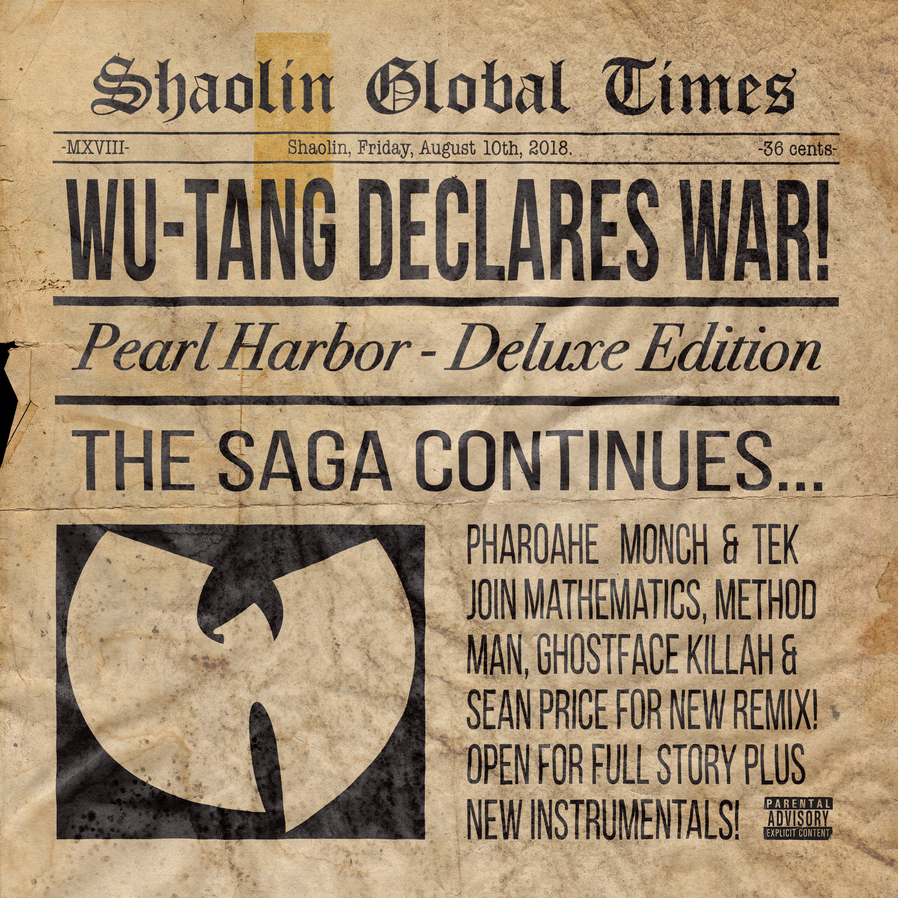 Wu-Tang – Pearl Harbor (Remix) – The Hype Magazine
