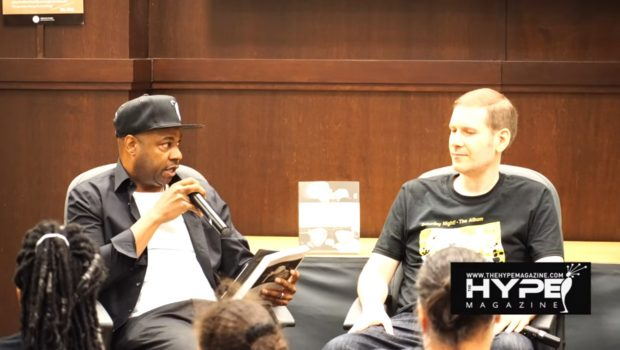 Hip Hop icon Dana Dane hosts Question and Answer session with Author Soren Baker Photo DJ Luos for The Hype Magazine