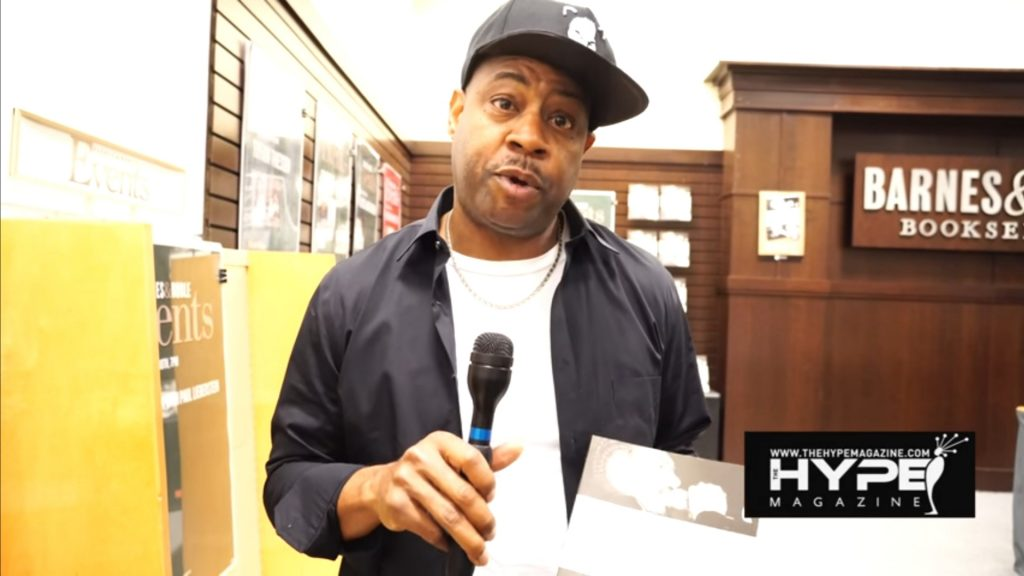 Hip Hop Icon Dana Dane at Soren Baker's The History of Gangster Rap Book Signing (Photo: DJ Luos for The Hype Magazine)