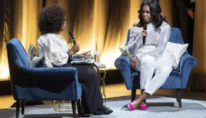 Michelle Obama Kicks Off Becoming Book Tour with Oprah Winfrey in Chicago (Photo Credit: Bill Smith)