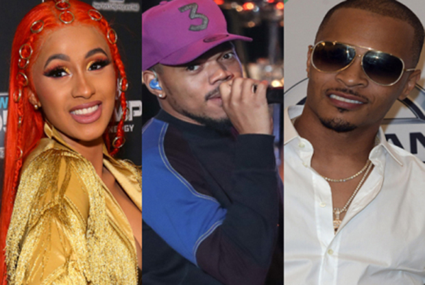 Cardi B, Chance The Rapper, And T.i. To Search For The