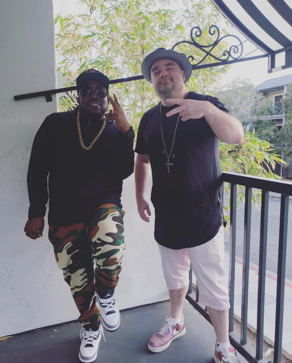 Big Boi and JBeatzz (Photo courtesy of JBeatzz)