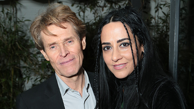 Willem Dafoe and Giada Colagrande attend the CAA Pre-Oscar Party on Friday, February 22, 2019 in at the San Vicente Bungalows in West Hollywood, California. (Photo: Benjamin Shmikler/ABImages)