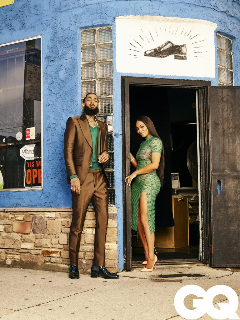 Nipsey Hussle, Lauren London featured in March issue of GQ (Photo: Awol Erizku)