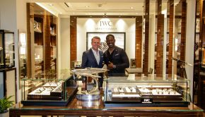 SCOTTSDALE, AZ - APRIL 25: IWC Schaffhausen Scottsdale Boutique 'Silver Spitfire' celebration on April 25, 2019 in Scottsdale, Arizona. (Photo by Jason Wise/[Jason Wise] for IWC Schaffhausen)