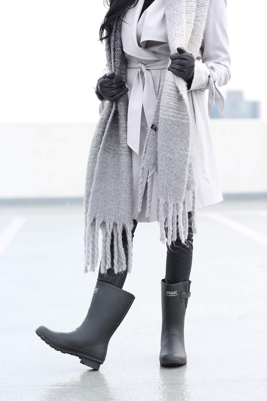 Beat April Showers with These Sustainable Rain Boots ROMA Boots 2