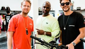 Michael Lillelund, Corey Gamble and Christian Adel Michael
