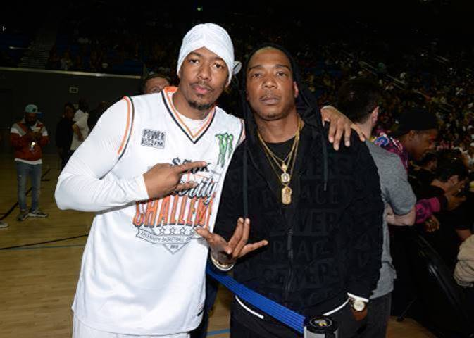 Nick Canon and Ja Rule Attend the Monster Energy $50K Charity Challenge Celebrity Basketball Game