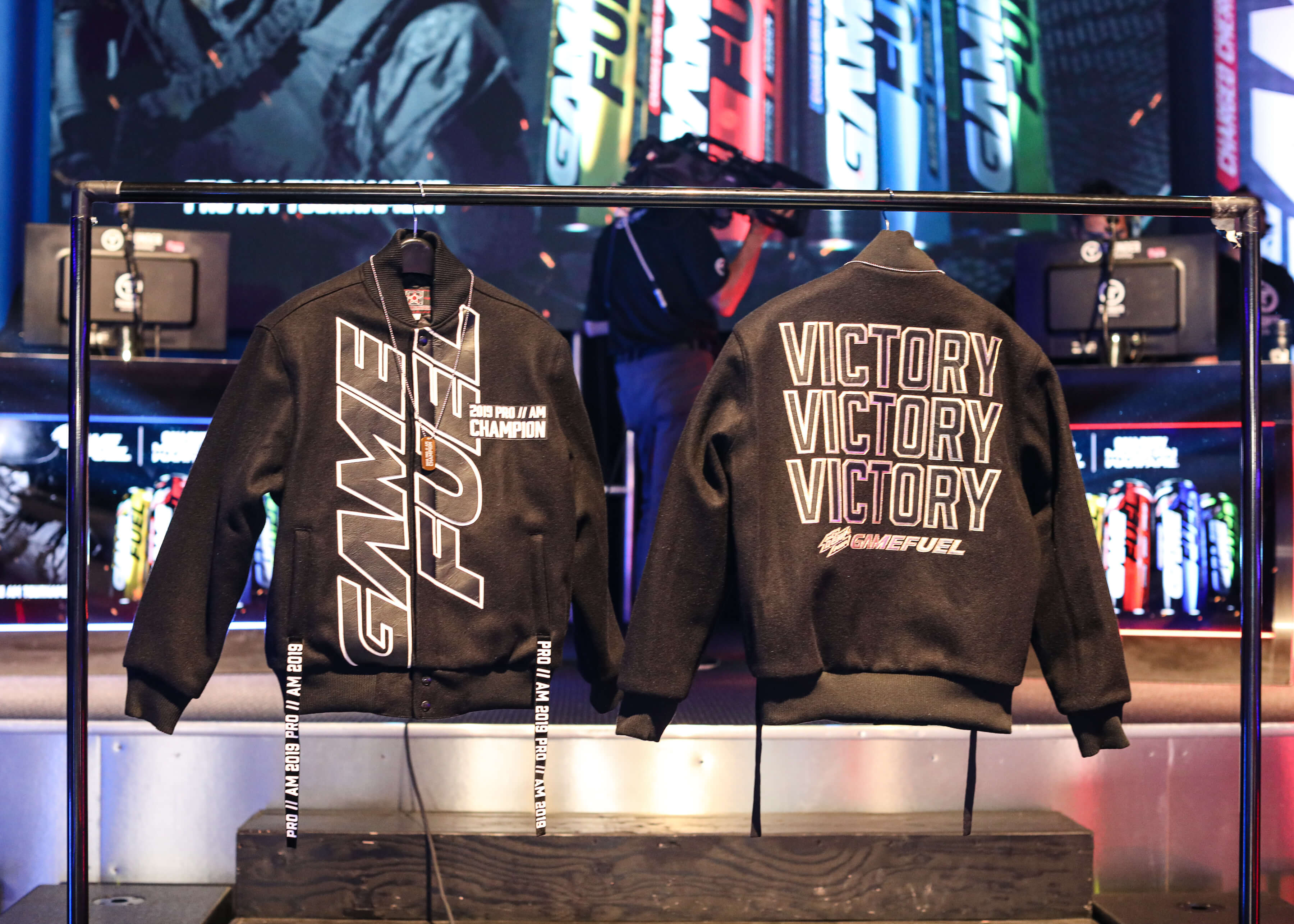 Victory Bomber Jackets At The Mtn Dew Amp Game Fuel Celebrity Pro Am The Hype Magazine [ 2571 x 3600 Pixel ]