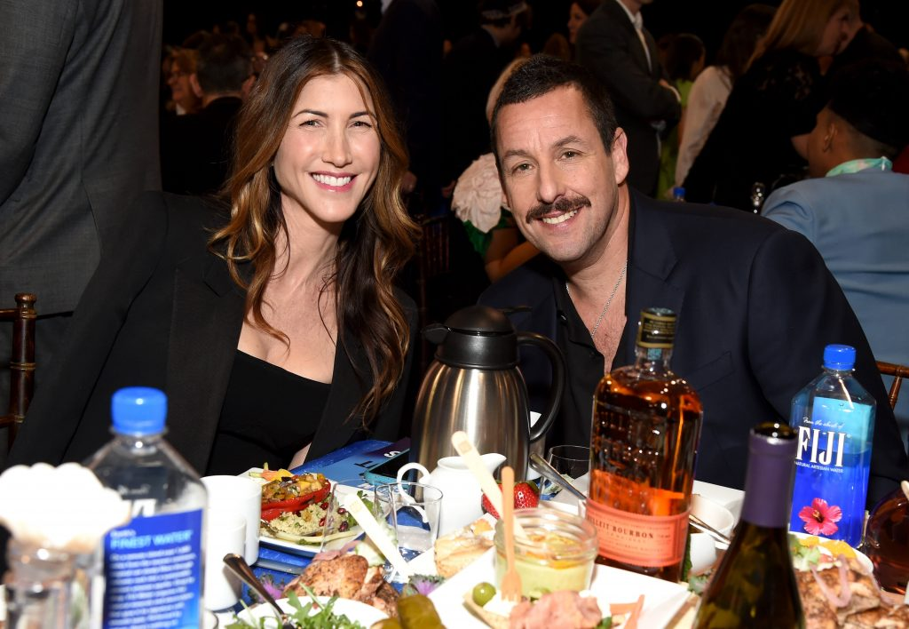 Jackie Sandler and Adam Sandler at the 2020 Film Independent Spirit Awards on February 08, 2020 in Santa Monica, California. (Photo by Michael Kovac/Getty Images for Bulleit Frontier Whiskey)
