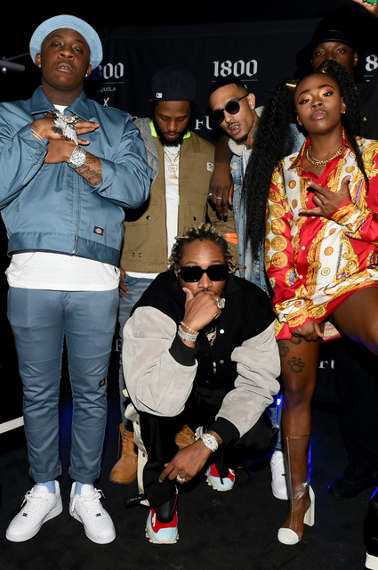 Future, Herion Young, Lihtz, Test, Aurora Anthony and Juiicy2xS Attend 1800 Tequila and Future Bring Seven Rising Hip-Hop Artists to Atlanta to Release New 1800 Seconds Vol.2 Album at Domaine Nightclub