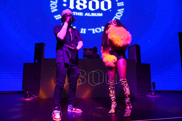 Juiicy2xS and Seddy Hendrinx Perform at 1800 Tequila and Future Bring Seven Rising Hip-Hop Artists to Atlanta to Release New 1800 Seconds Vol.2 Album at Domaine Nightclub