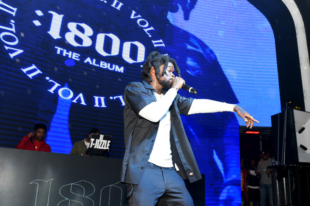 Seddy Hendrinx Performs at 1800 Tequila and Future Bring Seven Rising Hip-Hop Artists to Atlanta to Release New 1800 Seconds Vol.2 Album at Domaine Nightclub