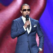 """Tip """"T.I."""" Harris introduces Dolemite Is My Name at the 51st NAACP Image Awards."""